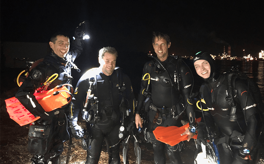 Night Dive Course